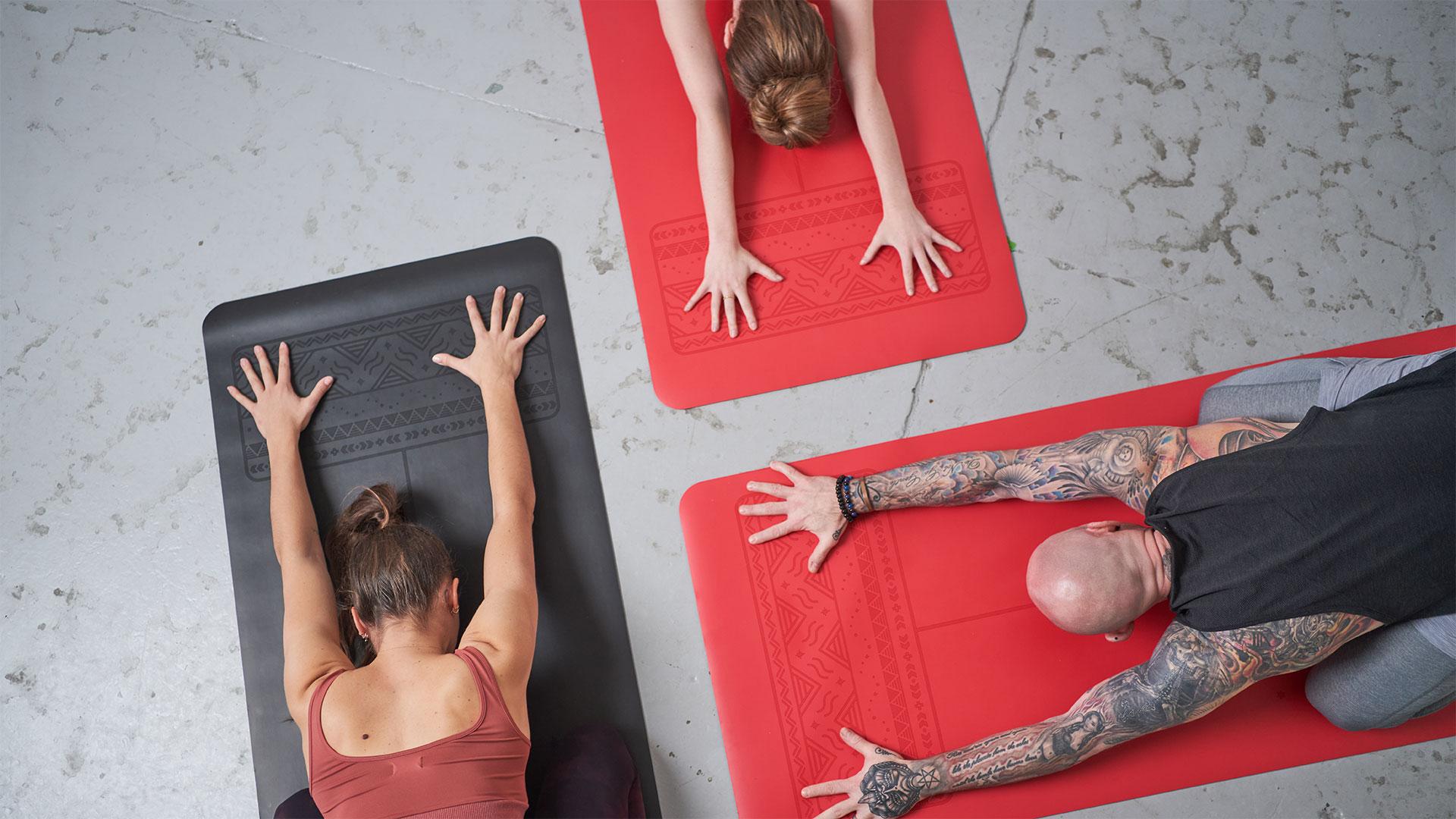 mat team yoga